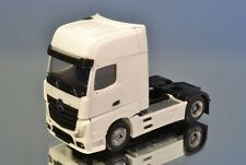 Herpa/scale Works 901036 MB actros gigaspace solo tractor con UFS * blanco *