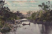 Postcard bridge over Blackwood River Bridgetown Western Australia by P. Falk