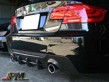 For BMW 2007+ 335i Coupe Convertible M Sport DP style Rear Diffuser Carbon Fiber