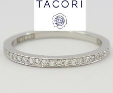 TACORI Ribbon 252612ML 0.17 ct Diamond 18K White Gold Wedding Band Rtl $2,080