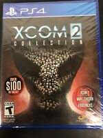 XCOM 2 Collection for Sony PlayStation 4 PS4 Brand New Factory Sealed