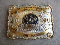 2000 OLD TUCSON STUDIOS ACMSA ARIZONA trophy rodeo buckle western championship