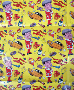 Only Fools and Horses CHRISTMAS Wrapping Paper 70x50cm x 4 Sheets