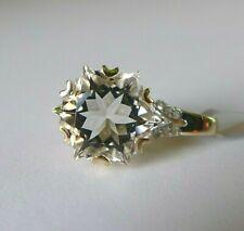 3.75Ct Wobito Snowflake Itinga Petalite & Diamond 9K Gold Pendant, Certificate