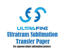 Ultrafine Ultratrans Sublimation Transfer Inkjet Paper 17 x 22 / 250 Sheets