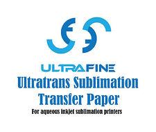 "Ultrafine Ultratrans Sublimation Transfer Inkjet Paper 44"" x 250' Roll"