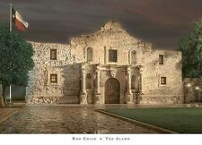 THE BATTLE OF ALAMO ART PRINT BY ROD CHASE San Antonio Texas 1836 battles poster