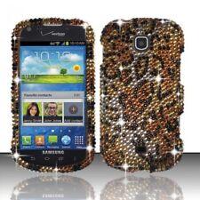 For Samsung Galaxy Stellar Crystal Diamond BLING Hard Case Phone Cover Cheetah
