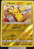 Carte Pokemon PIKACHU 55/236 REVERSE Soleil et Lune 11 SL11 FR NEUF