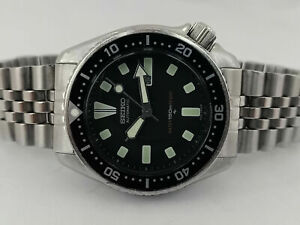 LOVELY PRE OWNED VINTAGE SEIKO DIVER 4205-0155 AUTOMATIC WATCH S.N: 500373