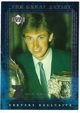 WAYNE GRETZKY 1999-00 Upper Deck Gretzky Exclusive - card # 48 (ex-mt)