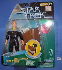 """STAR TREK 6"""" CHIEF MILES O'BRIEN 1998 Mint On Card"""