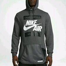 Nike Men's Air Apparel International Hoodie Heather Grey [802638-071] New Sz L