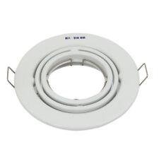 104mm Dia Ceiling Light Bracket Downlight Holder White w MR11/MR16 Lamp Socket