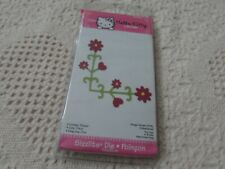 Sizzix Hello Kitty Medium Die Retired 655864 CORNER FLOWER by Sanrio NIP