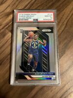 AARON HOLIDAY 2018-19 PRIZM ROOKIE SILVER #114 PSA 10 GEM MINT PACERS RC