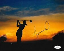 Michelle Wie LPGA Golf signed 8x10 photo autographed USA JSA