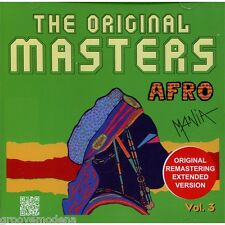 THE ORIGINAL MASTERS  AFRO MANIA vol 3 CD 12 TRACKS NUOVO NEW MINT COSMIC MECCA