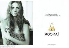 PUBLICITE ADVERTISING 026  2010  Kookai  collection sac  pret à porter (2p)