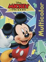 MICKEY & FRIENDS - Micky Maus - Multicolor Malbuch Disney Enterprises #598130