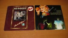 NO DOUBT - DON'T SPEAK / JUST A GIRL - 2 X CD SINGLE PACK AUSTRALIA CARD SLEEVE