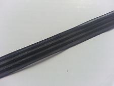 * Lace Market * 5 Metres 10mm 1cm Berisfords Black Voile Ribbon Trim Free P & P