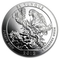 2012 5 oz Silver ATB El Yunque, Puerto Rico - America the Beautiful - SKU #67056