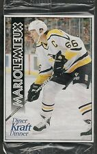 1996 Kraft Dinner Flex Magnet Mario Lemieux in Cello Pack