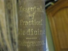 Essentials Of Practical Medicine 2nd Edition by Henry Hartshorne, M.D. --1869