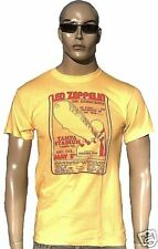 Bravado Official LED ZEPPELIN Merchandise Concert TAMPA STADIUM T-Shirt S