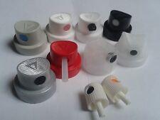 170 Spray Can Cap - MTN - MONTANA COLORS - 170 Boquillas + MTN Keyring/Llavero