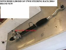 mitsubishi L200 2.5 DiD KB4T B40 POWER STEERING RACK R.H.D 06+ BRAND NEW