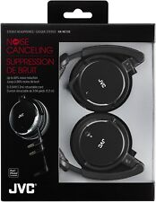 JVC - HA-NC120 - Noise-Cancelling Headphones with Retractable Cord - Black