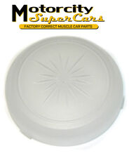 69-76 GM Models Roof Headliner Round Dome Light Lamp Lens Cover Frosted White OE