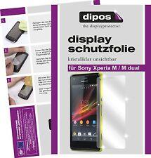 Sony Xperia M / Xperia M dual Protector de Pantalla transparente