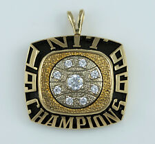 1996 NEBRASKA CORNHUSKERS NIT BASKETBALL CHAMPIONSHIP RING Top Pendant 10k GOLD
