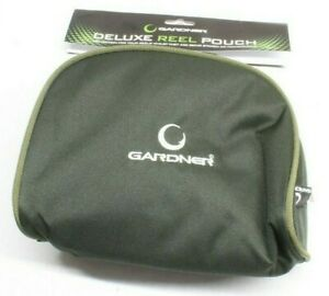 GARDNER TACKLE DELUXE REEL POUCH CASE - FITS ALL MODERN REELS INCLUDING BIG PIT