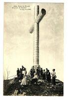CPA 73 Savoie Croix du Nivolet animé