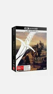 The Hobbit Trilogy. 4k Edition. Mint condition never used