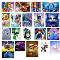 DIY 5D Diamond Painting Animals Seires Embroidery Craft Cross Stitch Home Decor
