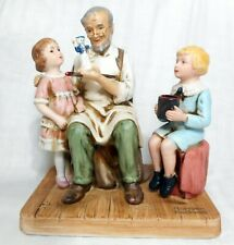 "1979 ""The Toymaker"" Norman Rockwell Museum Figurine"