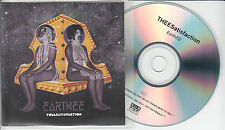 THEE SATISFACTION EarthEE UK no'd promo test CD + PR Sub Pop Shabazz Palaces