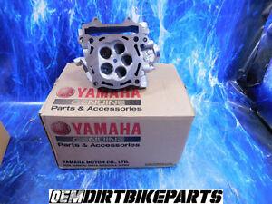 NEW Yamaha Yz450f Engine Cylinder Head Top End Cam Motor Wr450f OEM Stock