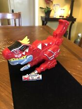 Power Rangers Dino Super Charge Charger Red T-Rex Gun Morpher Blaster Zord