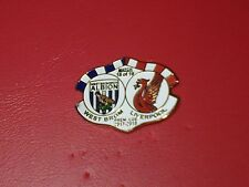 WEST BROMWICH ALBION. WEST BROM. WBA. V LIVERPOOL .  MATCHDAY BADGE. 22/4/18.