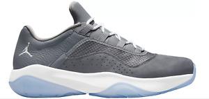 Jordan Air Jordan 11 CMFT Low Basketball Shoes  Cool Grey/White
