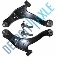 2 New Front Lower Control Arm & Ball Joint Assembly 2 Outer Tie Rods 10YR WRRNTY