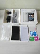 "HTC ONE M7 32GB SILVER 4.7"" 2GB RAM 3G LTE 4 MEGAPIXEL BOX ORIGINALE GRADO B+"
