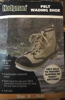 Hodgman Mens Felt Wading Fly Fishing  Shoe Boots Size 9