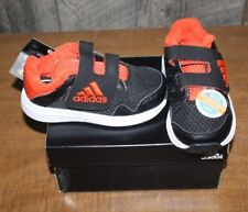 NIB ADIDAS SNICE CF INFANT SIZE 6 BLACK/ORANGE FREE SHIPPING